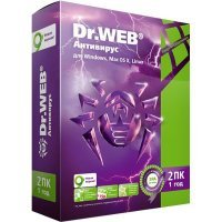 Dr.Web Pro 2ПК 1 год