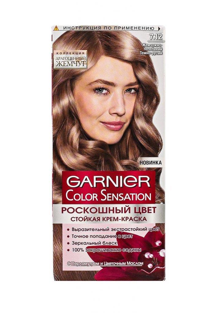 Краска для волос пепельно русого цвета