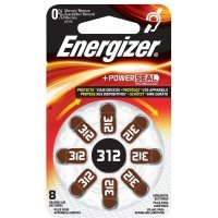 Energizer Zinc Air 312 DP-8