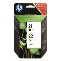 HP 21/22 Black/Tri-color SD367AE