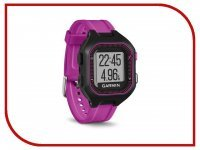 GPS-туристический Garmin Forerunner 25 Small Black-Purple 010-01353-30